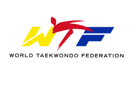 Graphic showing the logo of the World Taekwondo Federation